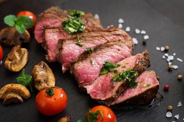 Seasoned Porterhouse Steak