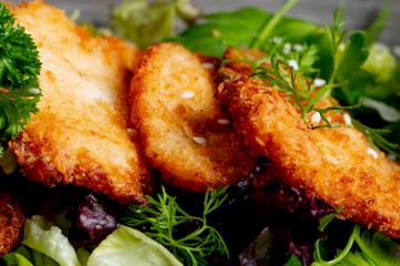 Chicken Schnitzel with German Potato Salad